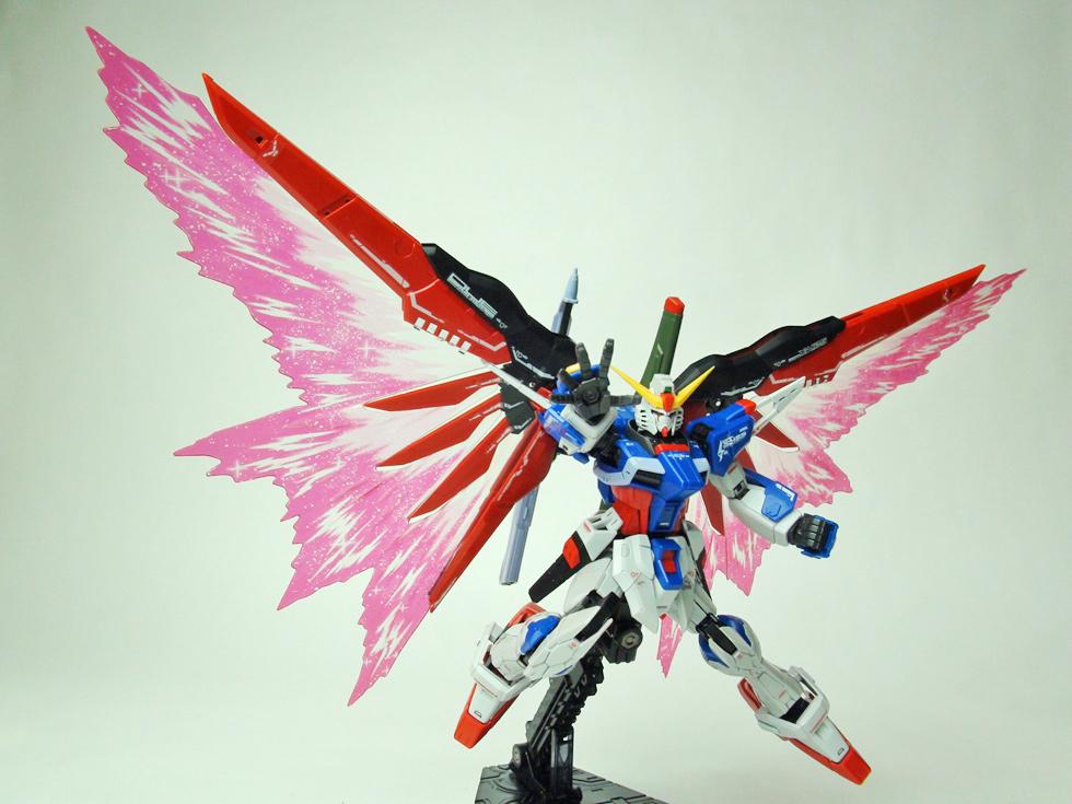 RG 1/144 デスティニーガンダム用 光の翼
