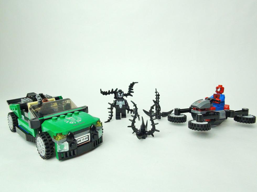 スパイダーマン スパイダーサイクル・チェイス