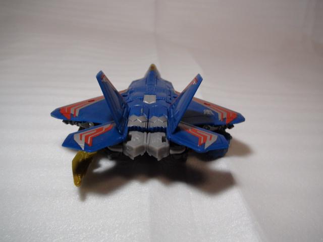DD-08サンダークラッカービークルモード後ろ