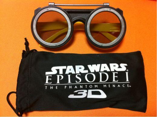 スターウォーズの3Dメガネ