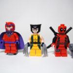 LEGO ウルヴァリンのヘリの対決