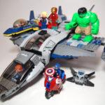 LEGO クインジェットでの空中バトル