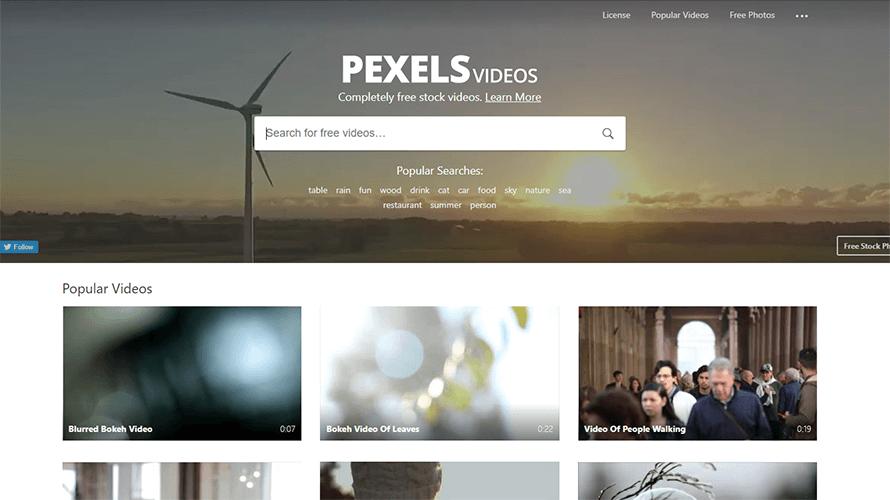 Pexels Videosスクリーンショット