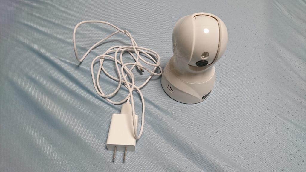 ネットワークカメラ YATWIN WIFI 防犯カメラ ワイヤレス IPカメラ ベビーモニター付属品
