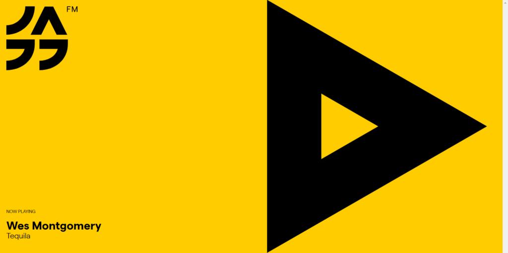 Jazz FM Romaniaサイト、スクリーンショット