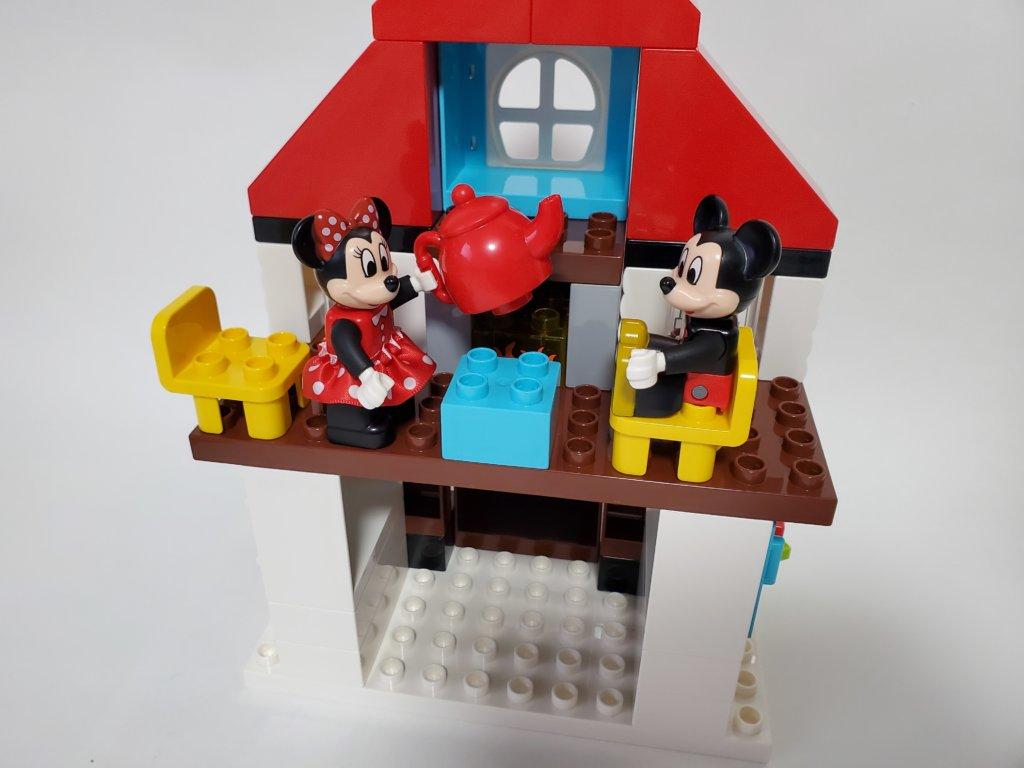 lego duploミッキーとミニーのホリデーハウス3