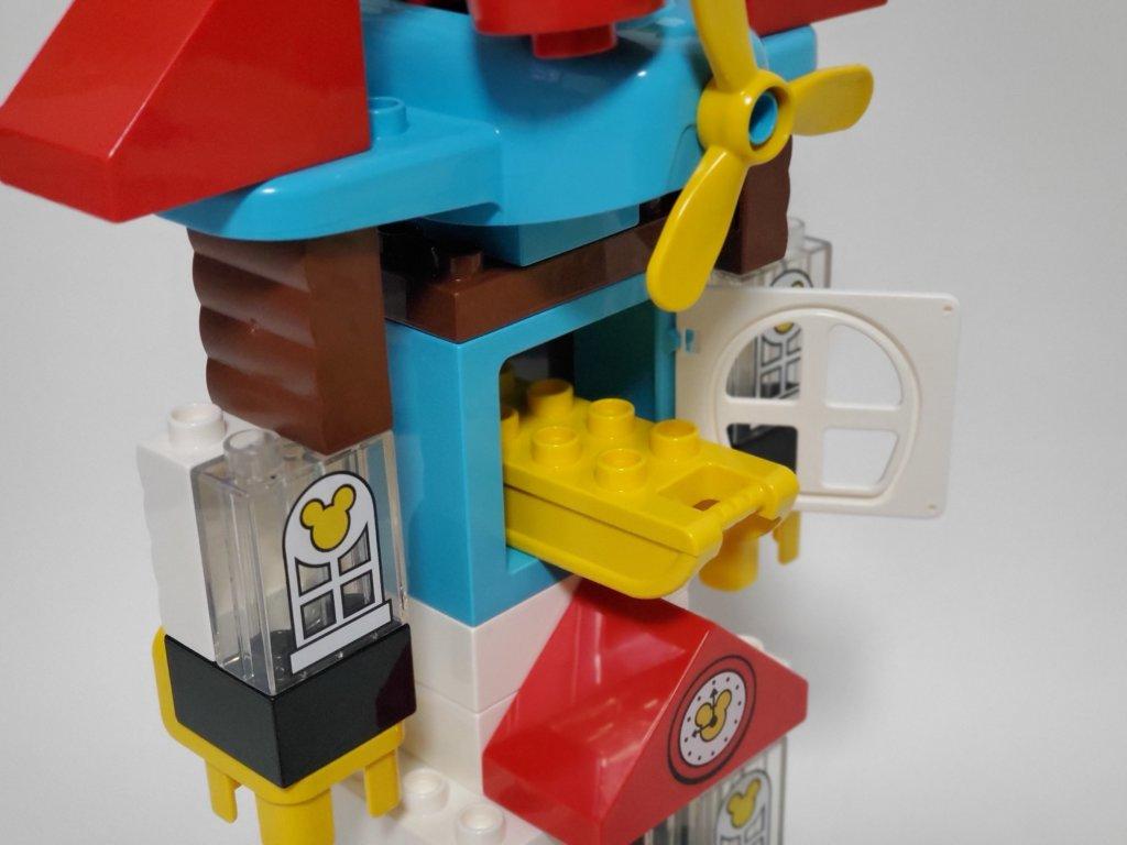 lego duploミッキーとミニーのホリデーハウス、ロボのホリデーキャノン