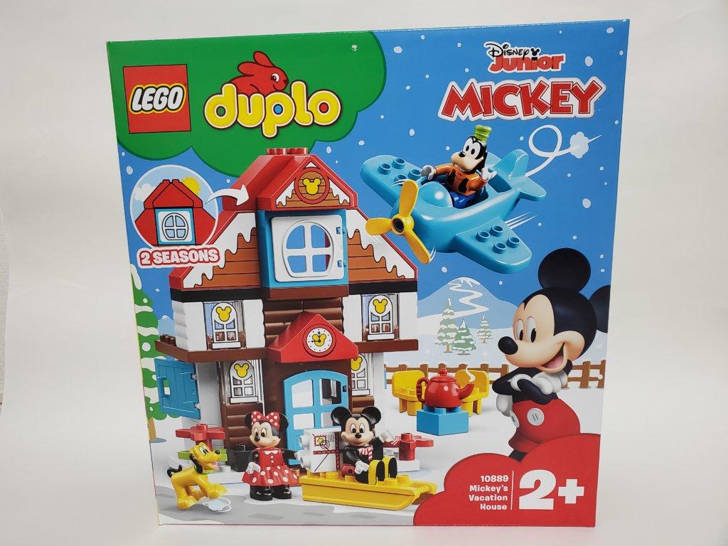 lego duploミッキーとミニーのホリデーハウスパッケージ